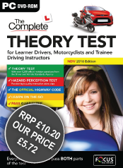 The Complete Theory Test for Learner Drivers, Motorcyclists and PDIs 2013
